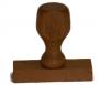Βάση Σφραγίδας 4 cm Χ 1,5 cm